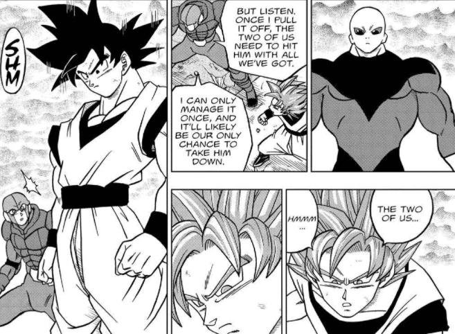 Goku abandons Hit vs. Jiren